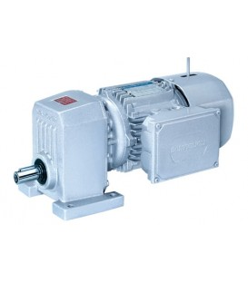 S series - Single reduction helical gearmotors