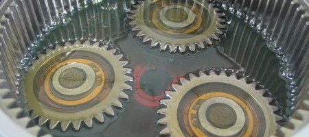 Maintenance of gearboxes