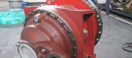 Gearboxes for concrete mixer